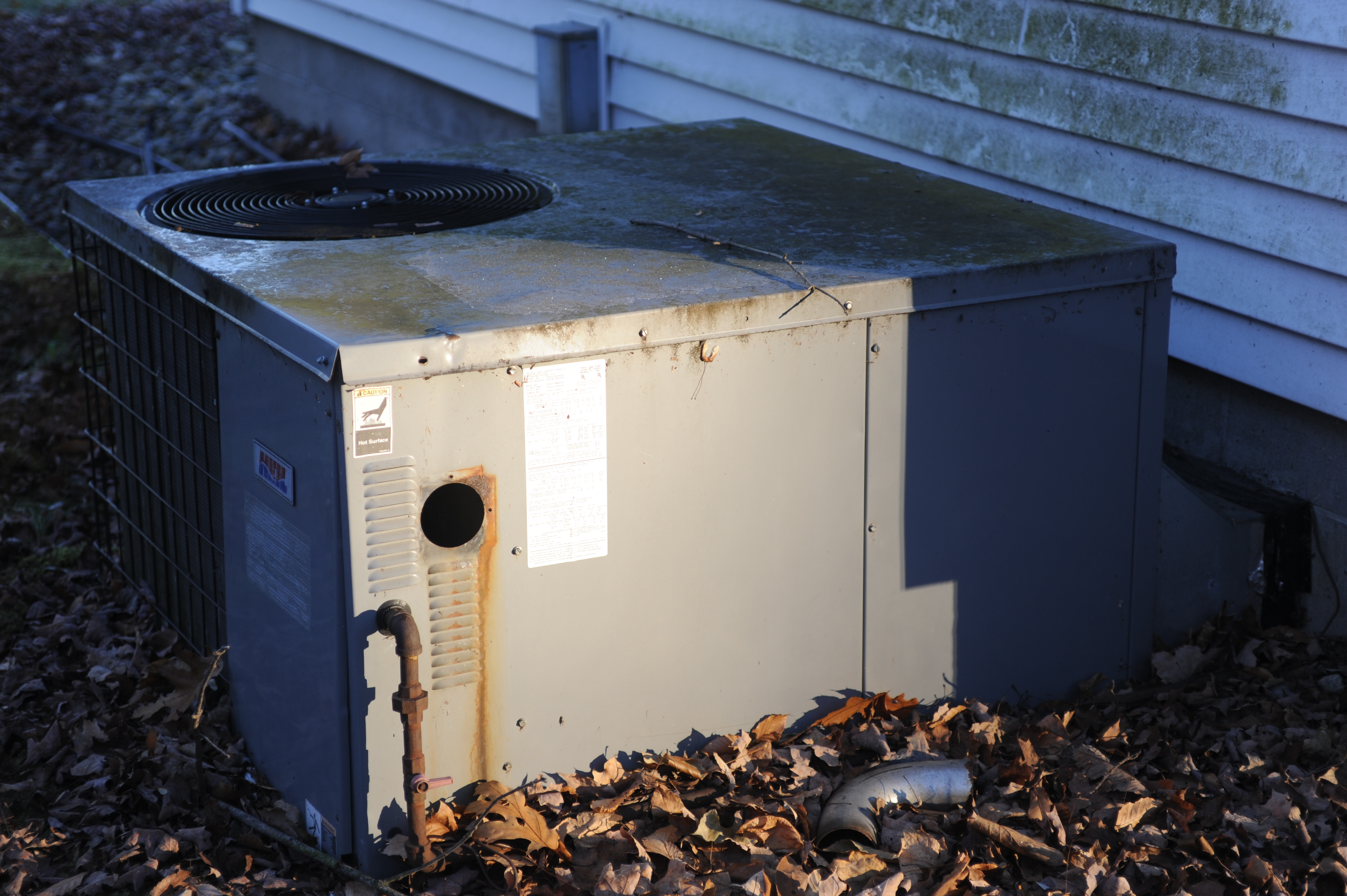 Package Unit - Contains both Heating and AC Components
