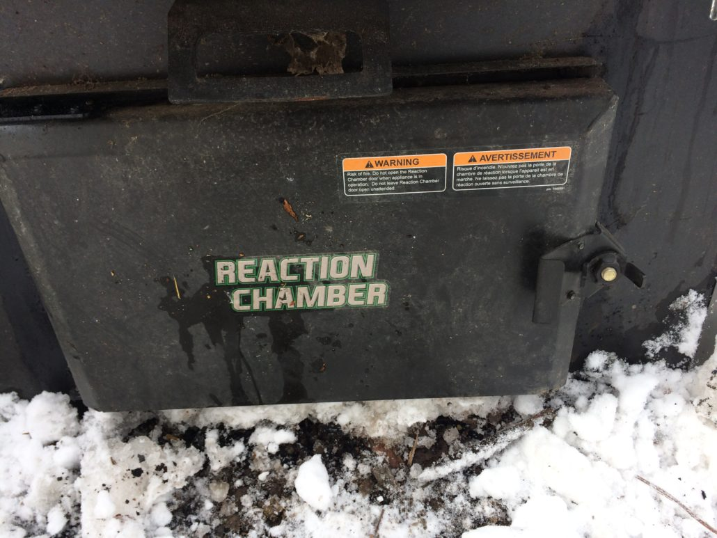 Central Boiler Classic Edge Reaction Chamber door