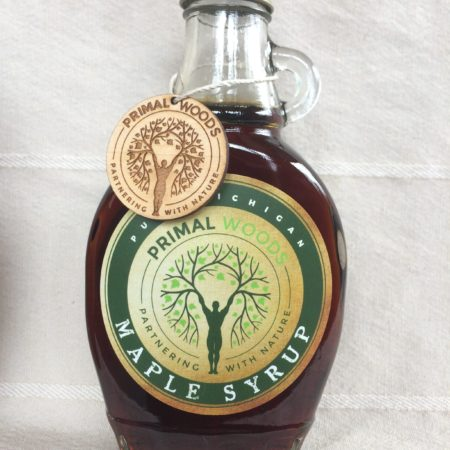 Primal Woods Pure Michigan Maple Syrup - Very Dark