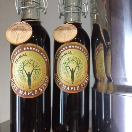 Whiskey Barrel Aged Pure Maple Syrup