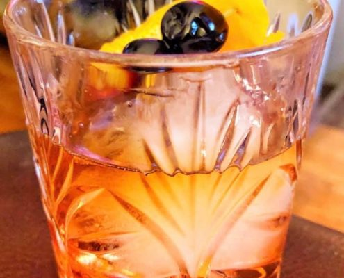 maple cocktail old fashioned
